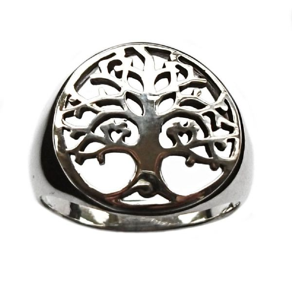 Tree of Life Sterling Silver Finger Ring (R024)